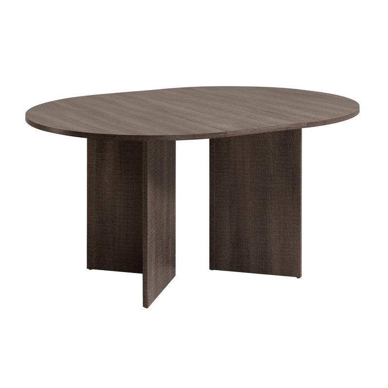 Table manger ronde avec allonge incluse maison et styles - Table ronde avec allonges ...