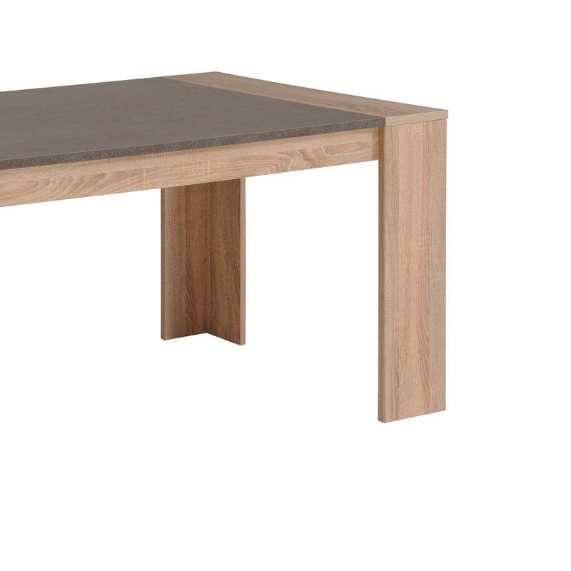 Table manger l177xh75xp91cm maison et styles for Destockage table a manger