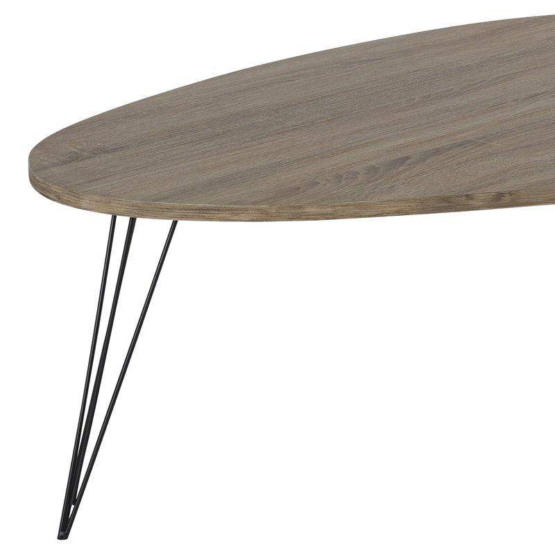 table basse johana 112x80xh40cm maison et styles. Black Bedroom Furniture Sets. Home Design Ideas