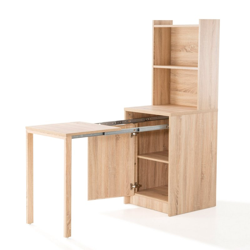 console extensible avec rangement coloris h tre evoplus maison et styles. Black Bedroom Furniture Sets. Home Design Ideas