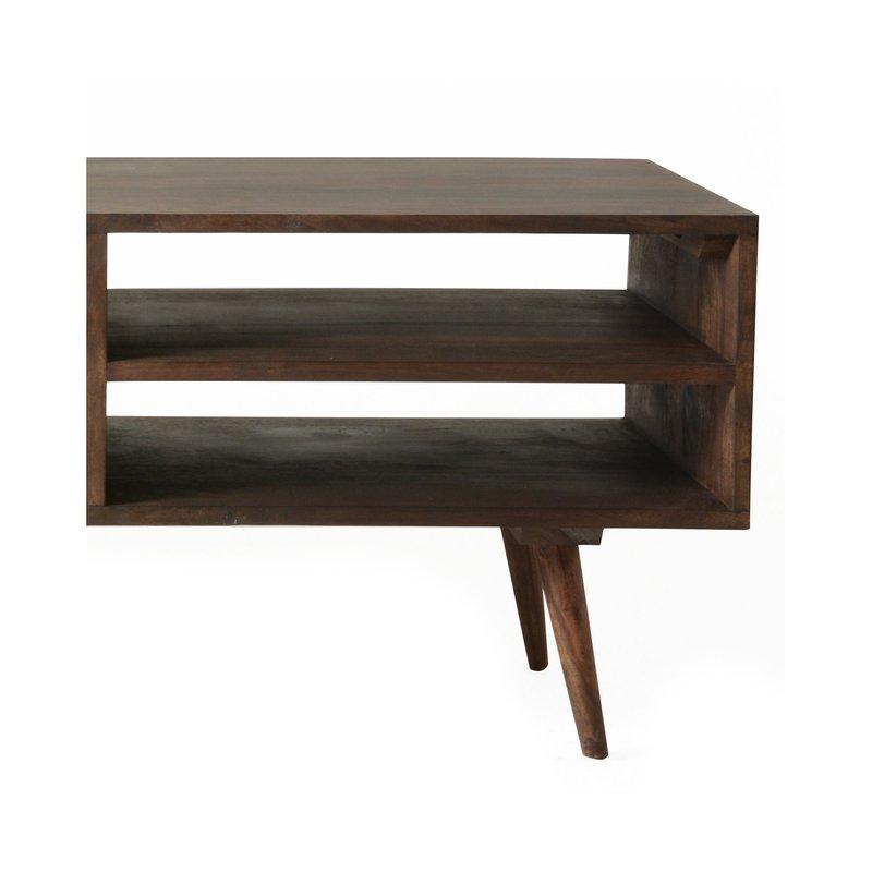 meuble tv 2 portes 2 niches en palissandre maison et styles. Black Bedroom Furniture Sets. Home Design Ideas