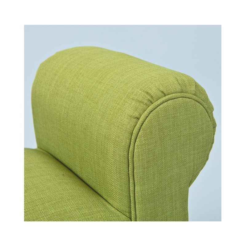 Banc En Tissu 100x53x30 Cm Vert Benchy Maison Et Styles