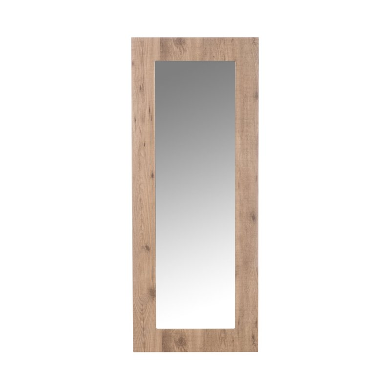 miroir rectangulaire en bois naturel 150x60 cm maison et styles. Black Bedroom Furniture Sets. Home Design Ideas