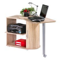 Bureau + table cuisine coloris chene naturel