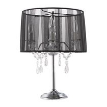 Lampe de table 38x38x50cm COSTA - noir