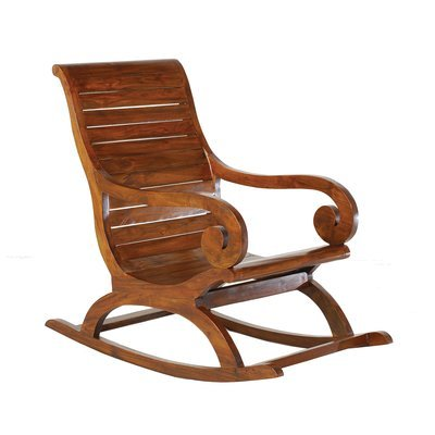 Rocking chair en bois - VOTARA