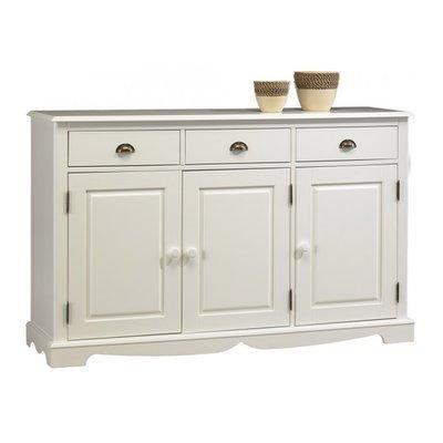 buffet vaisselier blanc de style anglais maison et styles. Black Bedroom Furniture Sets. Home Design Ideas