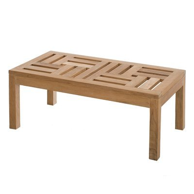 Table basse design 100 en teck - GARDENA