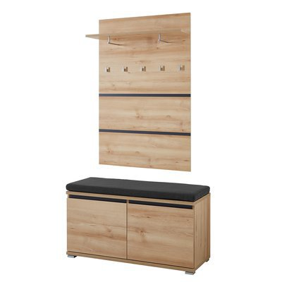 commode 2 portes 2 tiroirs en bois maison et styles. Black Bedroom Furniture Sets. Home Design Ideas