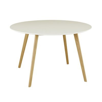 Table repas ronde 120cm blanc - BALTIC