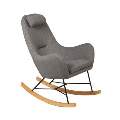 Rocking chair gris - ANSELME