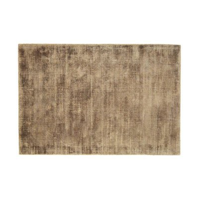 Tapis 120x170 cm en viscose café - FLASH