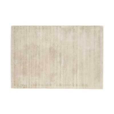 Tapis 120x170 cm en viscose blanc - FLASH