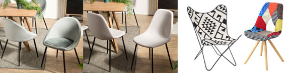chaises livraison gratuite chez maisonetstyles