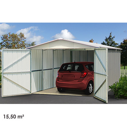 Garage Métal 15,50 m²